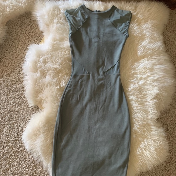 French Connection Dresses & Skirts - Gray/Olive French Connection Dress